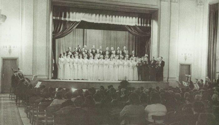 Kodály Zoltán Sztálinvárosban 1954. III. 28-án